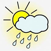 24011312-icona-del-tempo--sole-con-carri-nuvola-nel-cielo