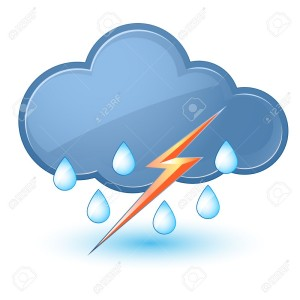 14657591-single-weather-icon--cloud-with-rain-and-lightning