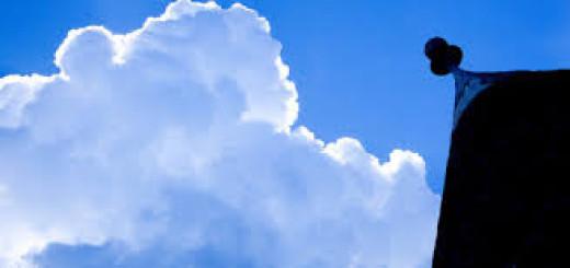 trullo con nuvola